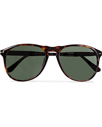 PO9649S Sunglasses Havana/Crystal Green