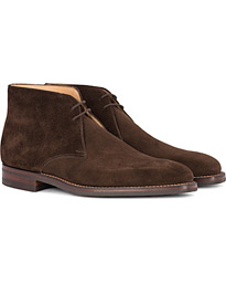 Tetbury Chukka Dark Brown Suede
