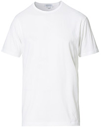 Crew Neck Cotton Tee White