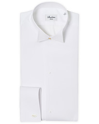 Slimline Astoria Stand Up Collar Evening Shirt White