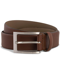 Barnabie Leather Belt 3,5 cm Medium Brown