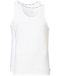 Cotton Tank Top 2-Pack White