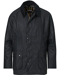 Ashby Wax Jacket Navy