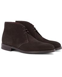 Pimlico Chukka Boot Dark Brown Suede