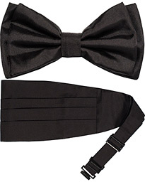 BOSS Cummerbund Set Black
