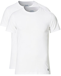 Polo Ralph Lauren 2-Pack Cotton Stretch White