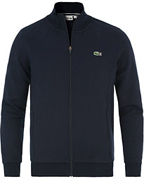 Lacoste Zip Trough Sweatshirt Marine