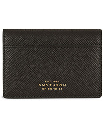Panama Folding Card Holder Black