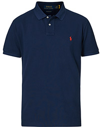 Polo Ralph Lauren Custom Slim Fit Polo Newport Navy