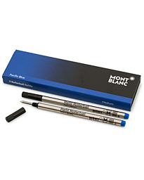 Montblanc 2 Rollerball Refills Royal Blue