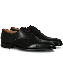 Hallam Oxford City Sole E Black Calf