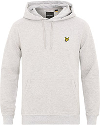 Lyle & Scott Pullover Hoodie Light Grey Melange