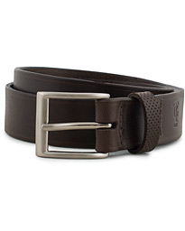 Leather Belt 3cm Dark Brown