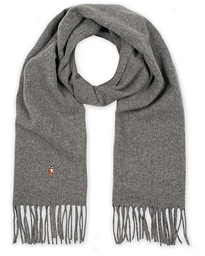 Polo Ralph Lauren Signature Scarf Fawn Grey Heather