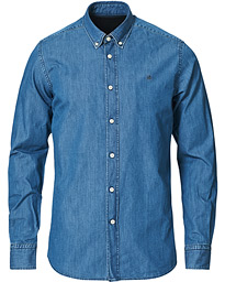 Julian Button Down Denim Shirt Light Wash