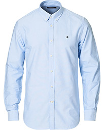 Oxford Button Down Cotton Shirt Light Blue