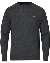 Merino O-Neck Grey