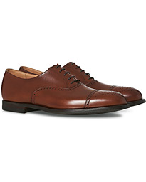 Crockett & Jones Hatton Brogue City Sole Burnished Calf