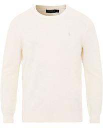 3ecb7741363 Polo Ralph Lauren Textured Linen/Cotton Pullover Clubhouse Cream