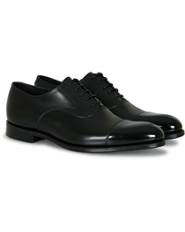 Loake 1880 Export Grade Hanover Toe Cap Oxford Onyx Black