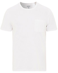 J.Crew Slim Fit Garment Dyed Pocket Tee White XS