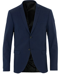 Jil Wool Stretch Blazer Blue