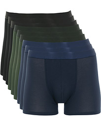 9-Pack Boxer Brief Black/Army/Navy