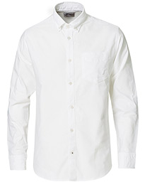 NN07 Levon Button Down Oxford Shirt White
