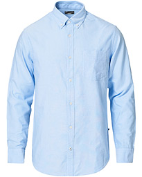 NN07 Levon Button Down Oxford Shirt Light Blue