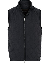 Liner Quilted Waistcoat Black
