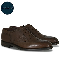 Loake 1880 Buckingham Brogue Dark Brown Grain Calf