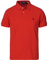 Polo Ralph Lauren Custom Slim Fit Polo Red