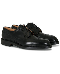 Crockett & Jones Pembroke Derbys Black Calf