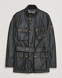 Trialmaster Waxed Jacket Black