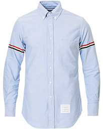 Thom Browne Armband Oxford Button Down Shirt Light Blue