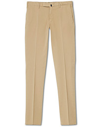 Incotex Slim Fit Stretch Chinos Sand