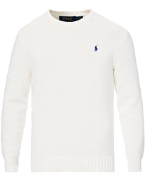 Polo Ralph Lauren Cotton Crew Neck Pullover White