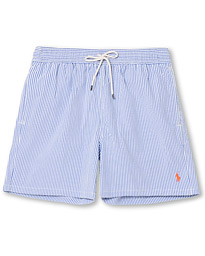 Polo Ralph Lauren Seersucker Stripe Swimshorts Blue/White