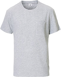 Clive Knitted Crew Neck Tee Grey