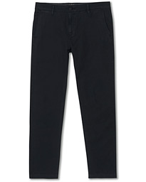 Garment Dyed Stretch Chino Mineral Black