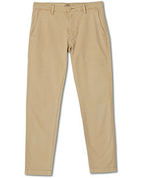 Garment Dyed Stretch Chino Beige