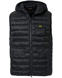 Ousten Hooded Gilet Black