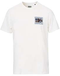 Barbour International Steve McQueen Team Flags Tee White