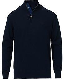 Barbour Lifestyle Tain Cotton Half Zip Navy