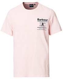 Barbour Lifestyle Chanonry Crew Neck Tee Pink