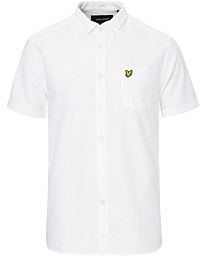 Lyle & Scott Oxford Short Sleeve Shirt White