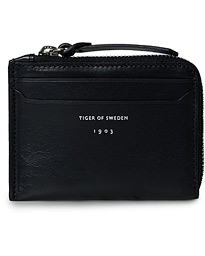 Tiger of Sweden Andra Zip Credit Card Holder Black
