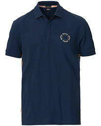 BOSS Athleisure Paddy Circle Polo Navy/Rosé Gold