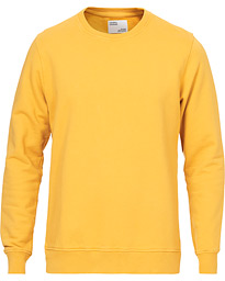 Colorful Standard Classic Organic Crew Neck Sweat Burned Yellow