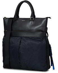 Sandqvist Andres Recycled Nylon Tote Bag Black